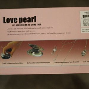 Love Pearl Jewelry - Love Chasteness Pearl Necklace